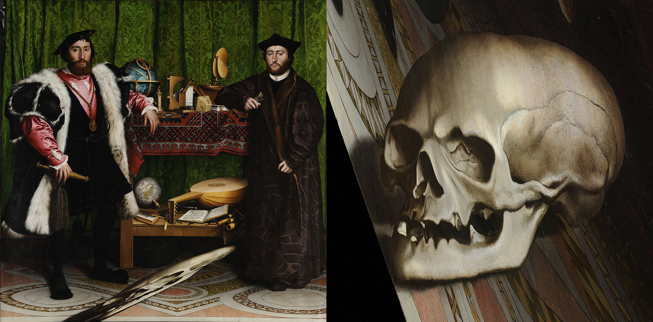 a visual analysis of the painting the ambassadors by hans holbein the younger Analysis of hans holbein the younger, the ambassadors admin | august 26, 2016 in this task, you will write an analysis (suggested length of 3-5 pages) of one work from the disciplines of visual art or music.